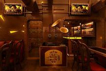 Steampunk restaurant
