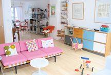 Interiors, design