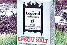 Epsom salts / by Kay Cox