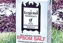 Epsom salts / by Kay Cox