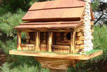 bird houses,feeders,baths