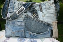 DIY Jeans upcycled