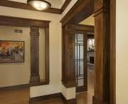 Wood column ideas