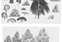 desenho árvore