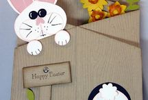 Cardmaking-Easter / Free instructions to cute handmade Easter cards.