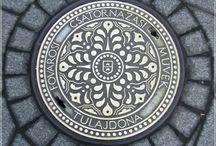 csatornafedél - manhole cover