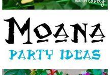 vaiana birthday party