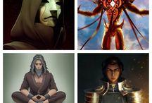 Villains (more or less)
