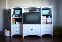 Organization- Living Room