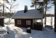 Le sauna Finlandais / L'Authentique Sauna Finlandais au Bord du Lac