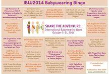 International Babywearing Week// IBW 2014 / #intlBabywearingWeek #IBW2014
