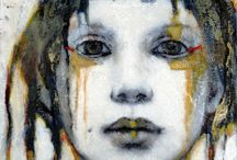 Y10 Portraits - Joan Dumouchel