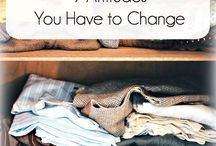 Organisation ideas / How organise all parts of your life