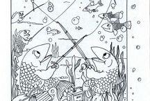 Piilotetuttuja kuvia, kalat