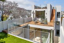 Noe Valley Residence / Martinkovic Milford Architects transformed an aging single-family residence in San Francisco's sought-after Noe Valley neighborhood into a contemporary, light-filled home.