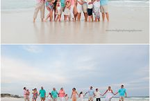 Group and Family Beach Portraits