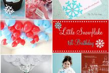 Winter Birthday Party & Free Printables
