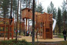 Ersboda Umeå / Äventyrslekplats i Umeå, Lekplats Richter Spielgeräte