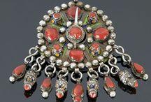 enamel jewelly pieces