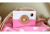 Wooden cameras - Tikoi Children's Toys