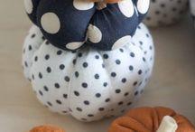 Citrouilles fancy / Citrouilles décorées