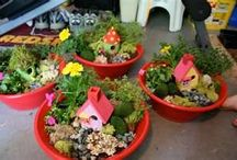 flowers and garden treasures / by CATHY SHELTON