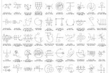 Glyphs and Alphabets / Languages and alphabets to use in puzzles