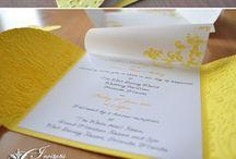 Zaproszenia ślubne / Kreatywne rozwiązania zaproszeń ślubnych