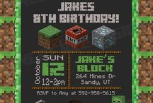 minecraft bday ideas