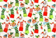 Vintage gift wraps