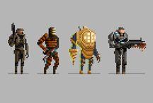 game pixel art