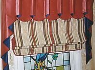 Curtains Roman blind