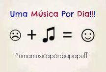 Uma Música Por Dia / Projeto lançado no instagram do Blog Papuff (@blogpapuff), onde compartilho e convido todos a compartilharem uma música todo dia