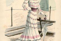 1900s - Fashion plates