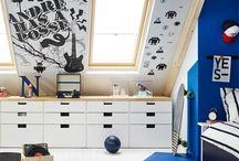 Attic room/office
