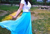 OOTD: Princess of the blue world / by indianfashionandlifestyle.com