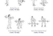 Barbell exercices