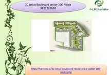 3c lotus boulevard resale 9811220650 sector 100 noida