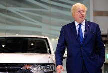 London Mayor Boris Johnson Unveils New Outlander PHEV / London Mayor Boris Johnson travelled to Japan in October 2015 to unveil the new Outlander PHEV