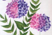 Flowers / Handpainted Flowers