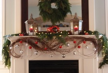 Inspiring Mantle Decor / Your fireplace mantle is the go to place to add special seasonal decor to a room,  plus its the place to showoff favorite family pictures, trophies, awards and inspiring messages!