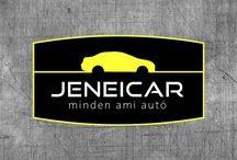 JENEICAR BRAND / Autós vállalkozás arculatának kialakítása.