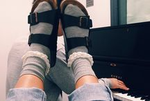 socks & sandals / questionable