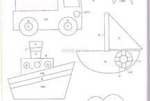 School Drawings/ outlines