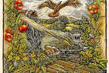 Lammas/Lughnasadh / The first day of August, formerly observed as harvest festival.(Northern Hemisphere)