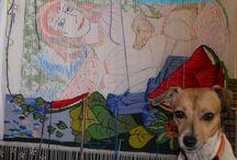 Mis tapices, Tapices de María Coca Tramablanca / En este tablero voy a ir subiendo mis propios tapices y todo lo relacionado con ellos: imágenes que me inspiraron, materiales que uso, obras en proceso....