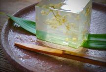 和菓子のお土産   beautiful wagashi / 美味しい和菓子をたくさん集めたボードです。
