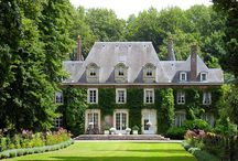HOUSES & GARDENS - Maison & Jardins / houses from the outside, gardens and gardening tips