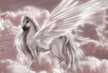 Pegasus / This beautiful winged-horse has enchanted me for a long time!
