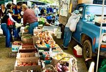 Street Markets From Around the World / exotic fresh foods, healthy eating abroad, local fare, rare delights